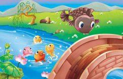 小鲤鱼跳龙门