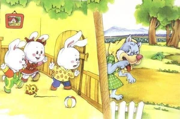 小兔子乖乖故事