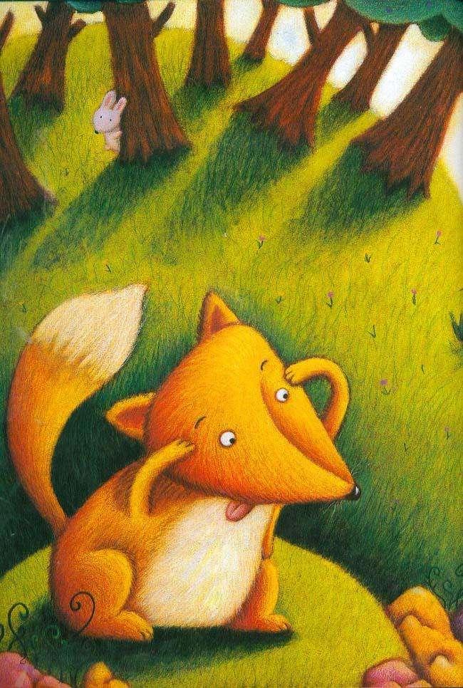 狐狸爸爸鸭儿子故事