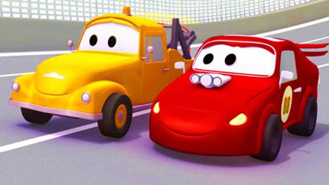 彩色小汽车