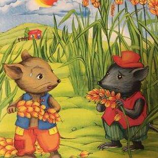 田鼠和家鼠